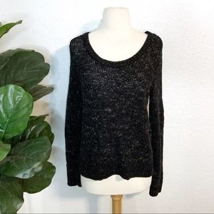 Eileen Fisher Soft Tinted Tape Twist Sweater Small